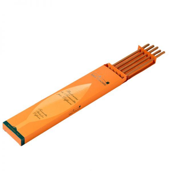 5 Terracotta Sticks für Raumduft